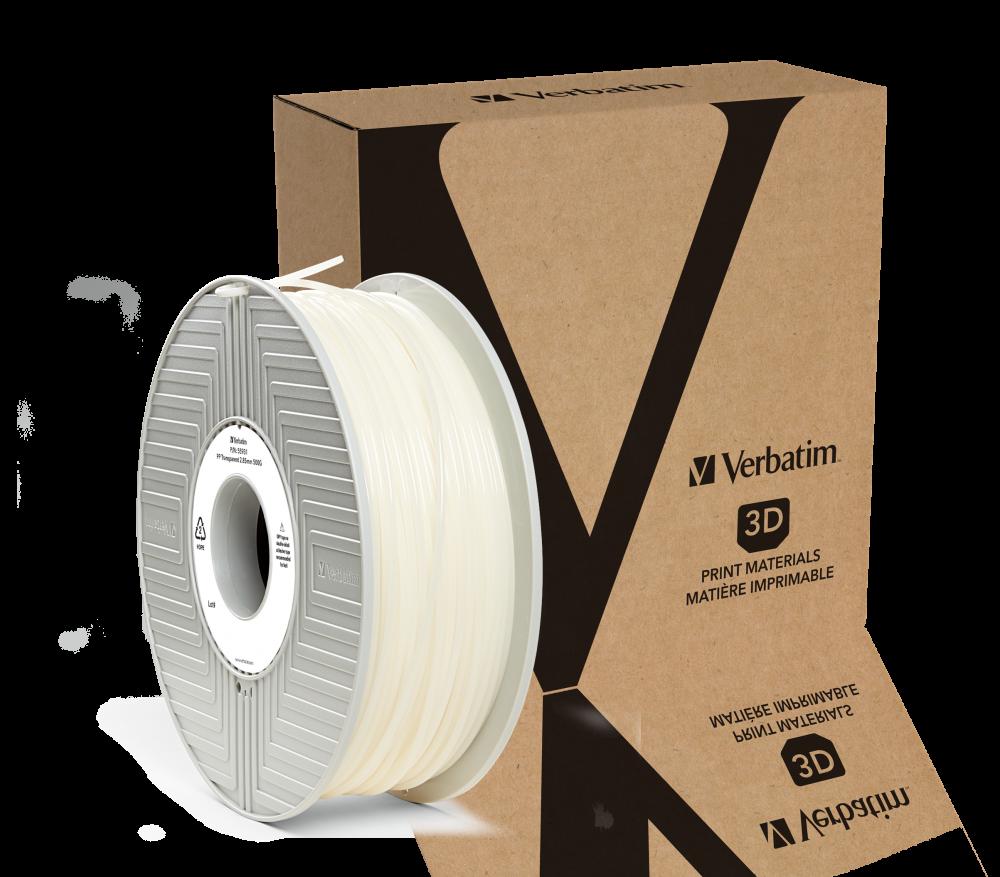 PP-filament van Verbatim 2,85�mm - transparant