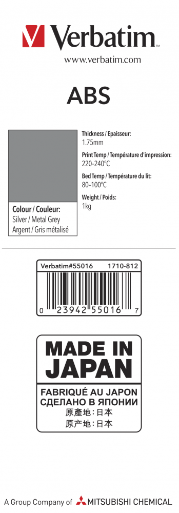 55016 ABS 1.75mm 1kg Label