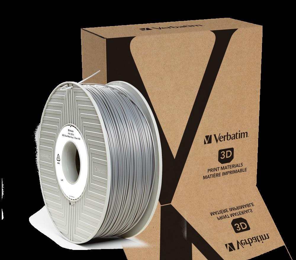 Verbatim ABS-fibrer 1,75 mm 1 kg - Silver