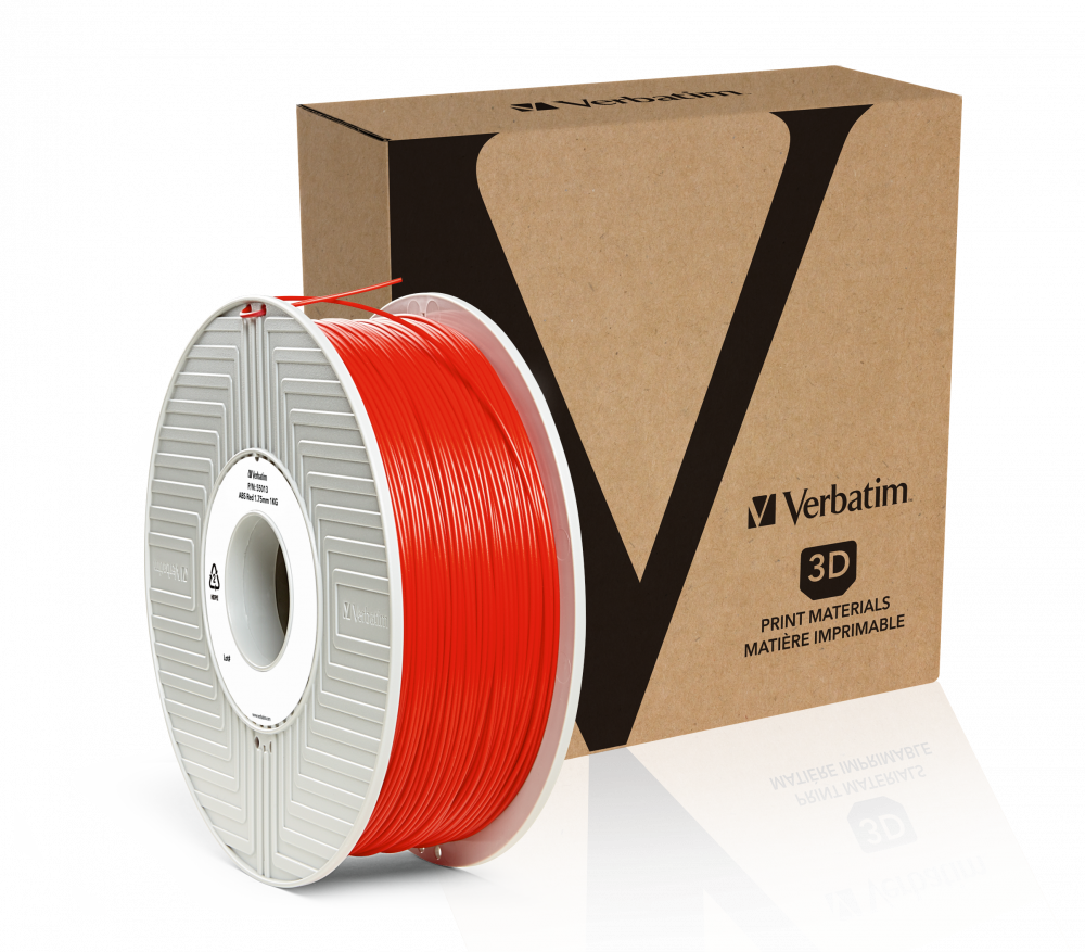 Verbatim ABS Filament 1.75mm 1kg - Red