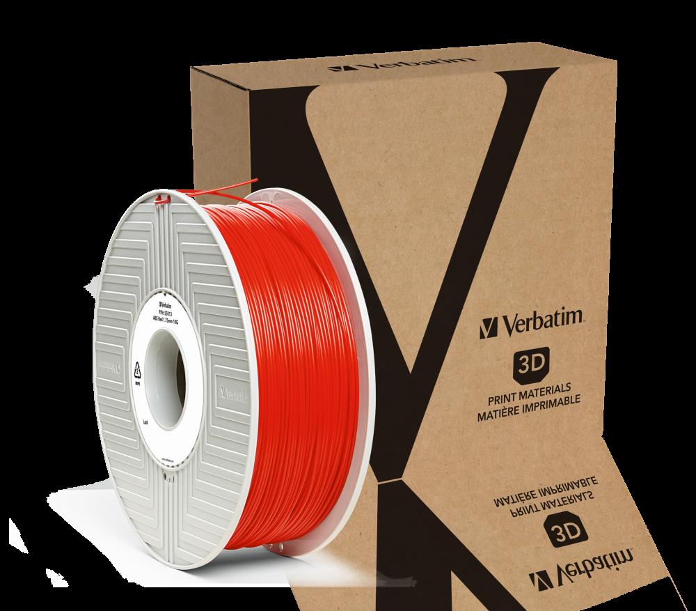 Filamento Verbatim in ABS 1,75 mm 1 kg - Rosso