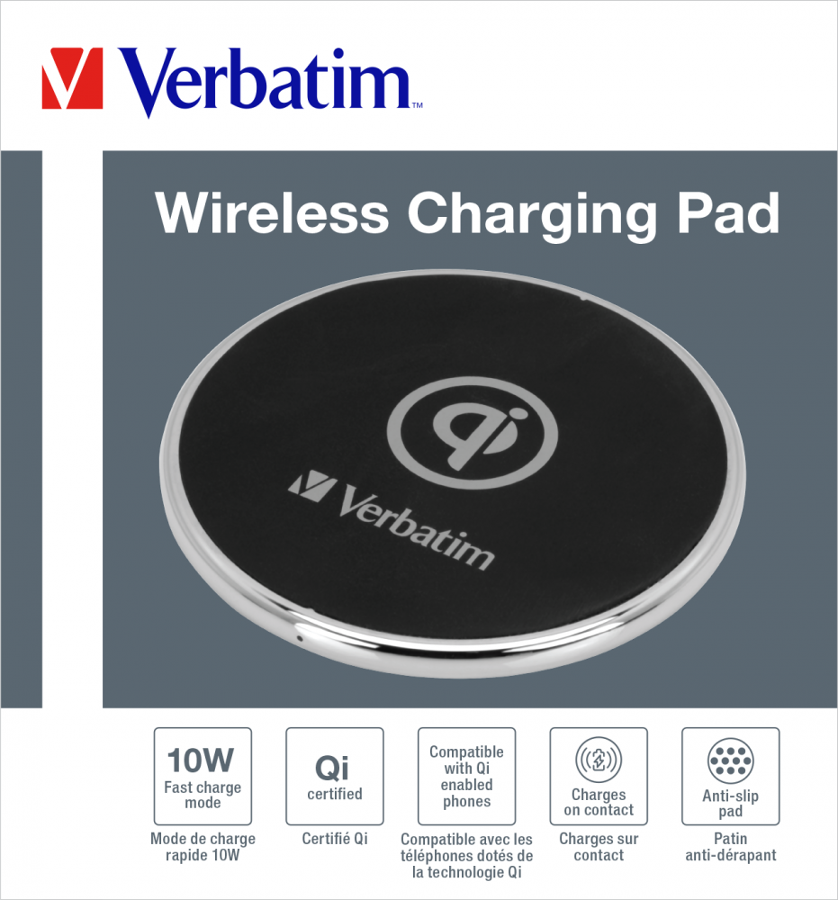 Wireless Charging Pad - Metal