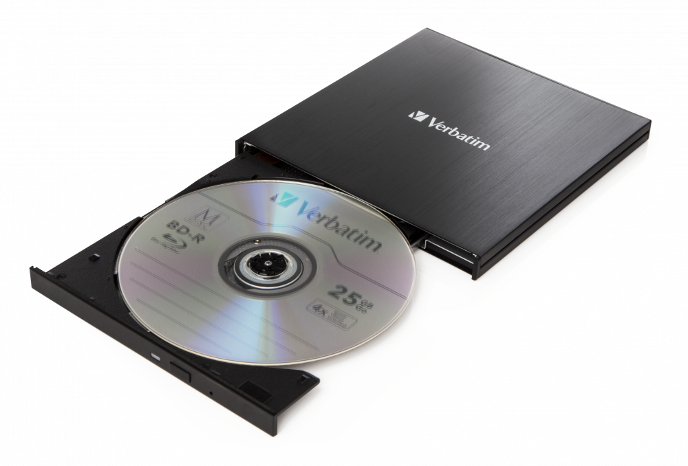 Externer Slimline-Blu-ray-Writer Ultra HD 4K