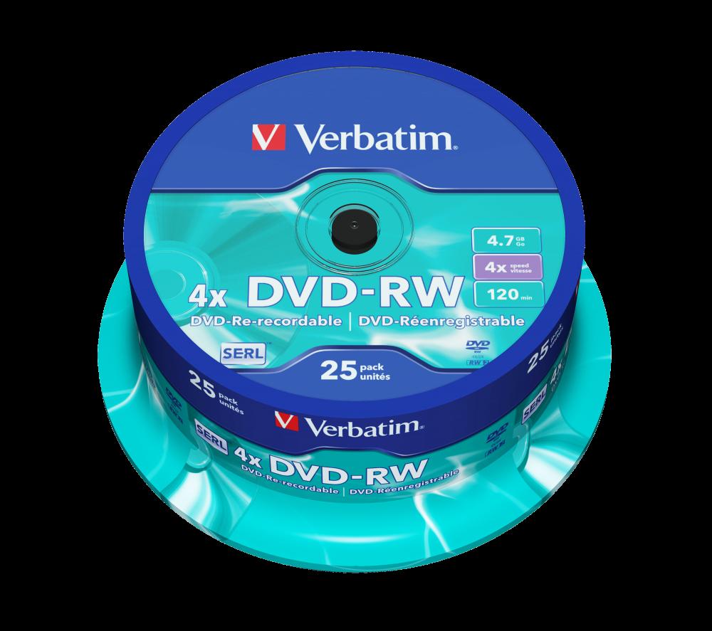 DVD-RW matzilver