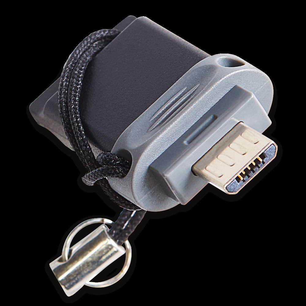 Dubbel USB-station – OTG/USB2.0 - 32GB