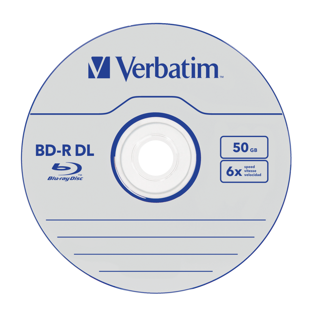 BD-R DL 50GB* 6x 10 Pack Spindle