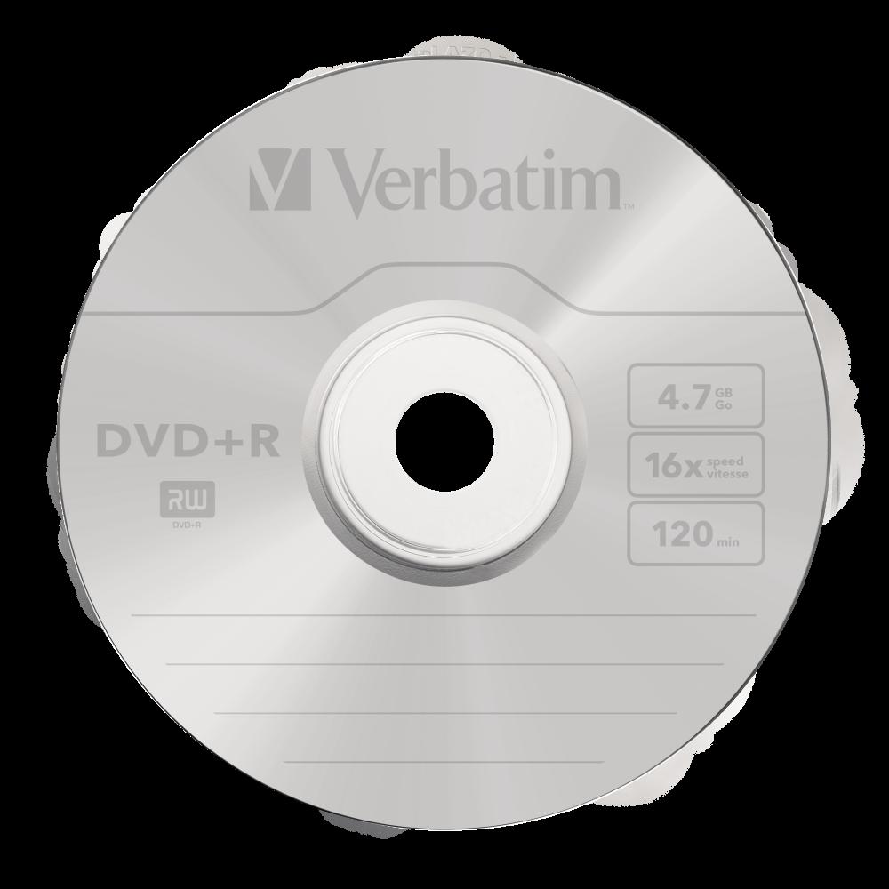 DVD+R matzilver