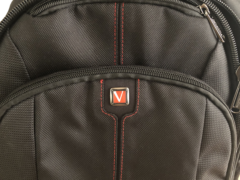 Bag Logo closeup