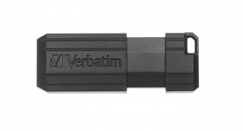 PinStripe USB Drive 16GB* - Black