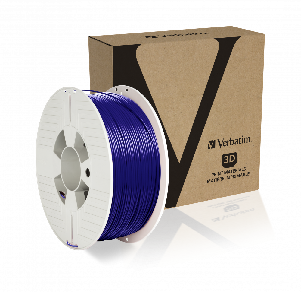 Filament PET-G Verbatim de 1,75 mm - Bleu