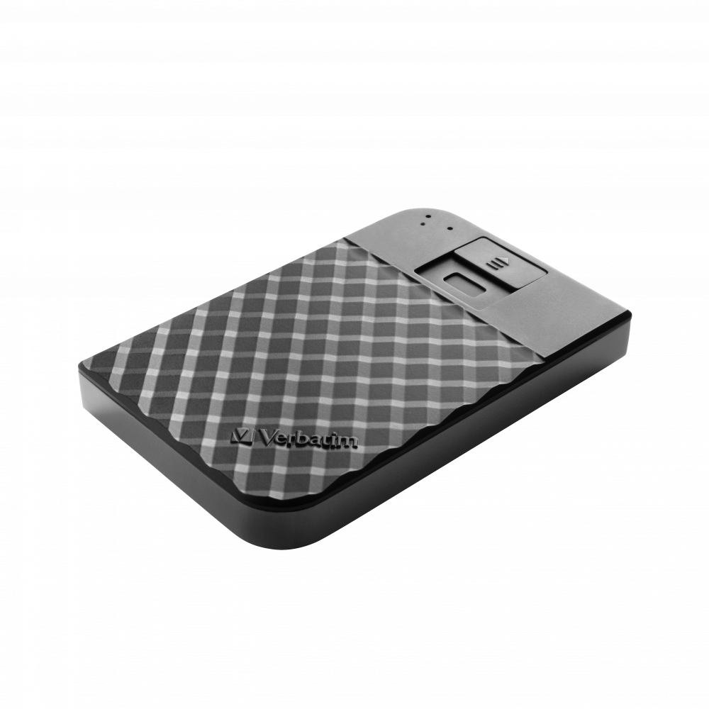 Fingerprint Secure Portable Hard Drive 1TB