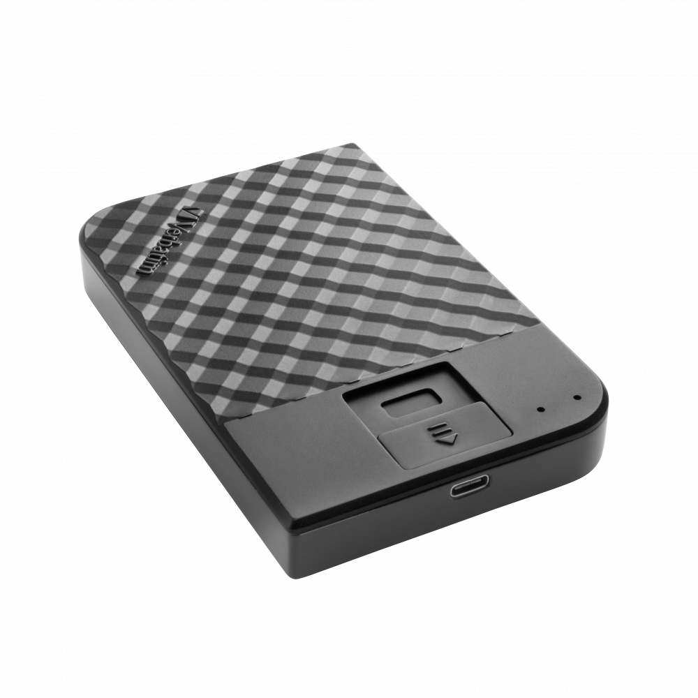 Fingerprint Secure Portable Hard Drive 2TB