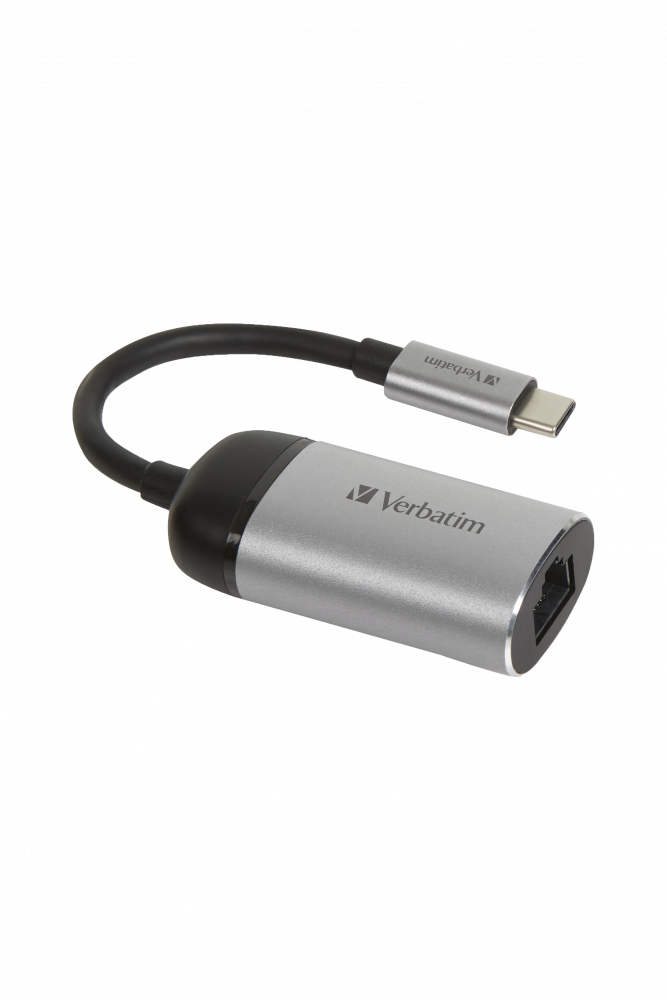 Адаптер Verbatim USB-C™–Gigabit Ethernet