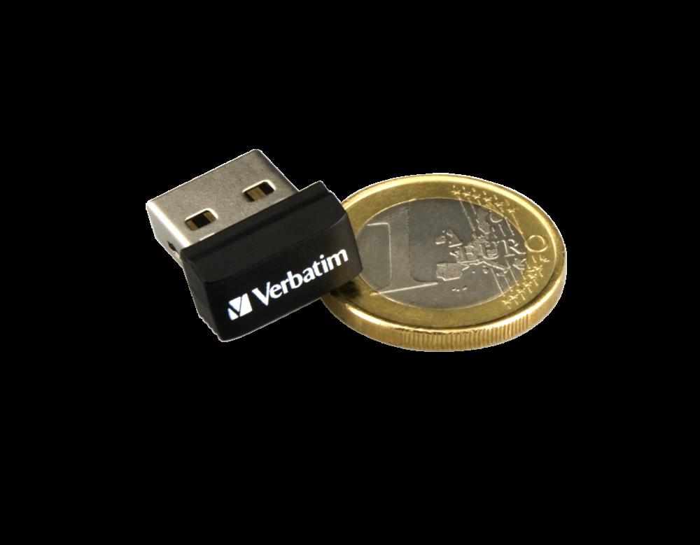 98130 NANO USB Drive + Euro Coin 3