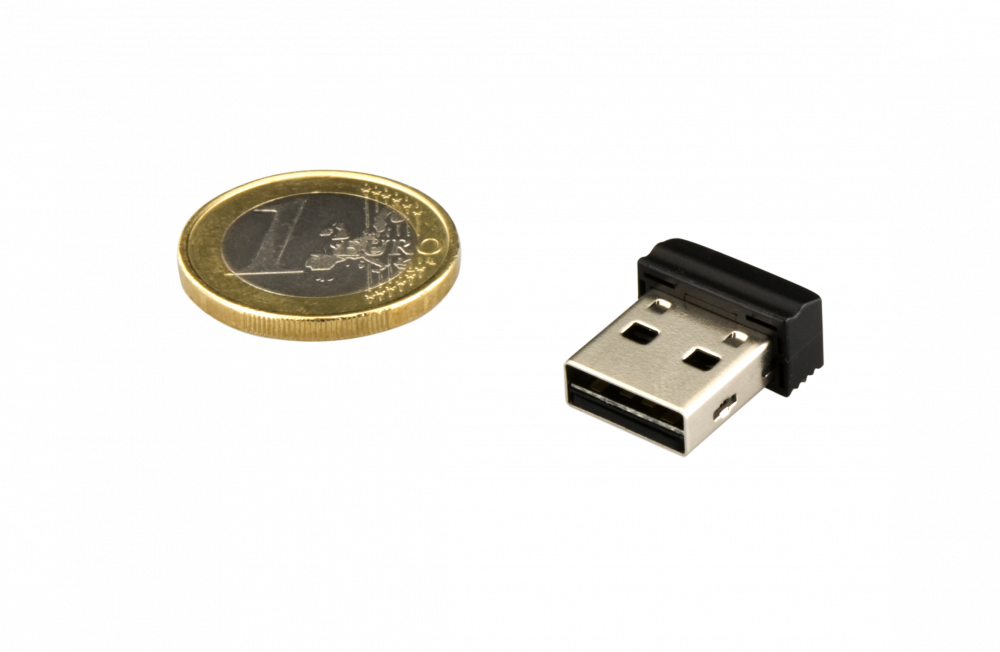 98130 NANO USB Drive + Euro Coin 2