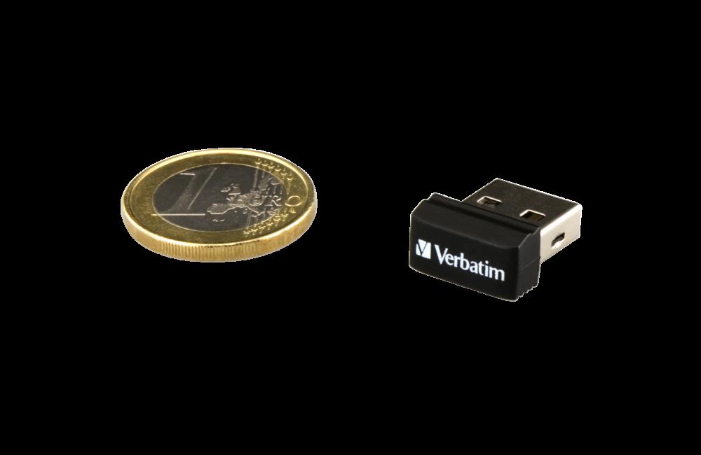 98130 NANO USB Drive + Euro Coin 1