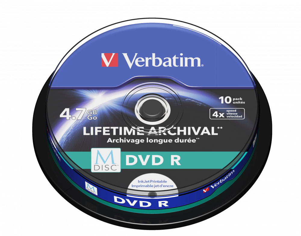 Verbatim MDISC DVD R Dziesiêciopak, szpindel