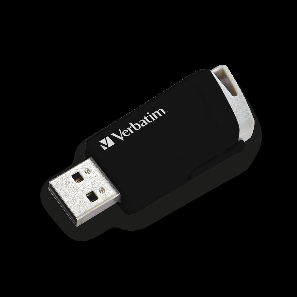 Store 'n' Click USB Drive 32GB* Black