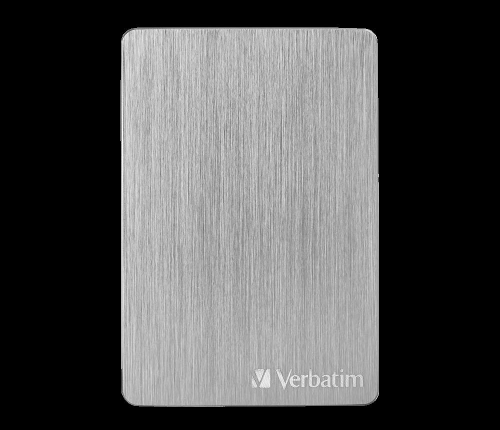 Přenosný pevný disk Store 'n' Go ALU Slim 2 TB Stříbrný