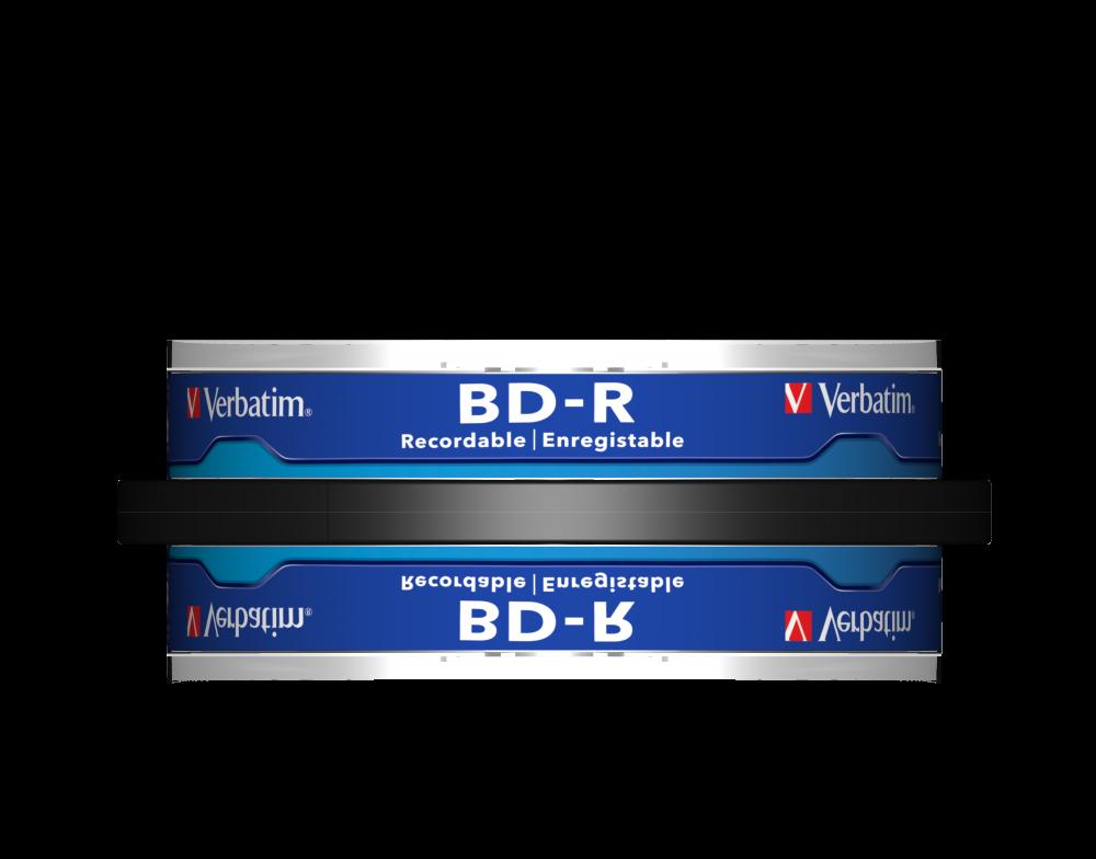 BD-R SL 25GB* 6x 10 Pack Spindle