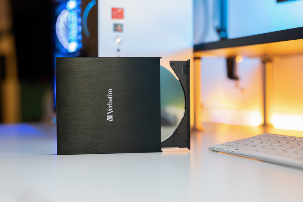 Verbatim External Slimline Blu Ray Writer2020 4