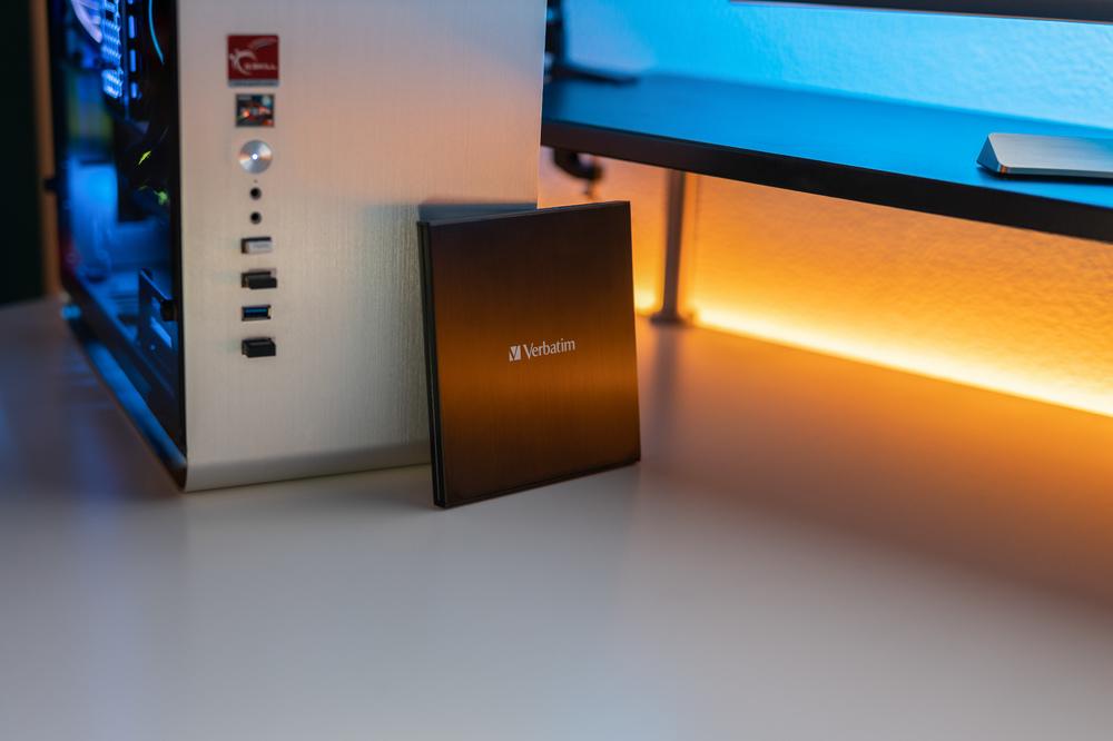Verbatim External Slimline Blu Ray Writer2020 2