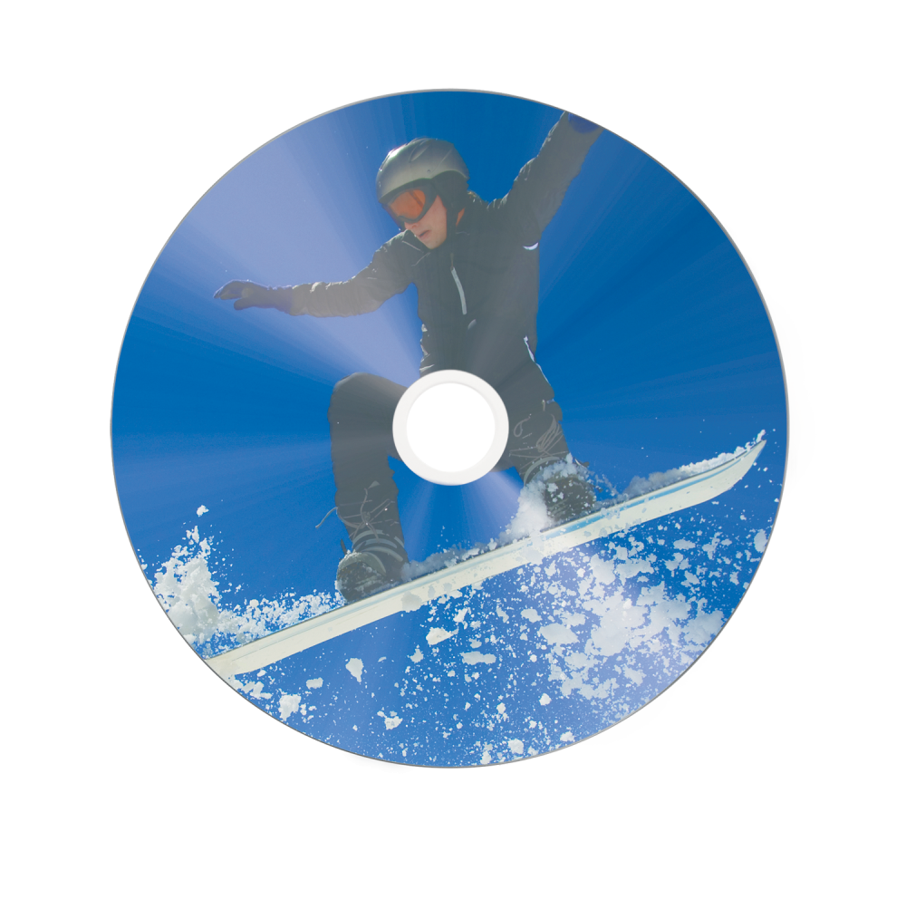 DVD-R Wide Silver Inkjet Printable No ID Brand