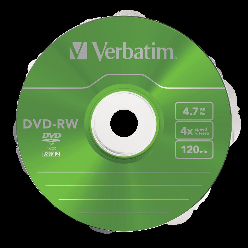 43563 DVD-RW Colour Global Disc Surface Green