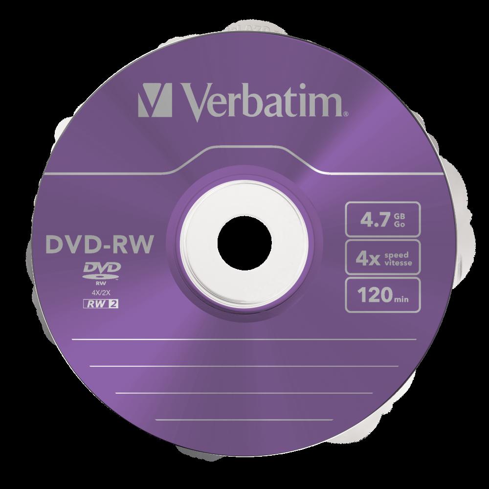 43563 DVD-RW Colour Global Disc Surface Purple