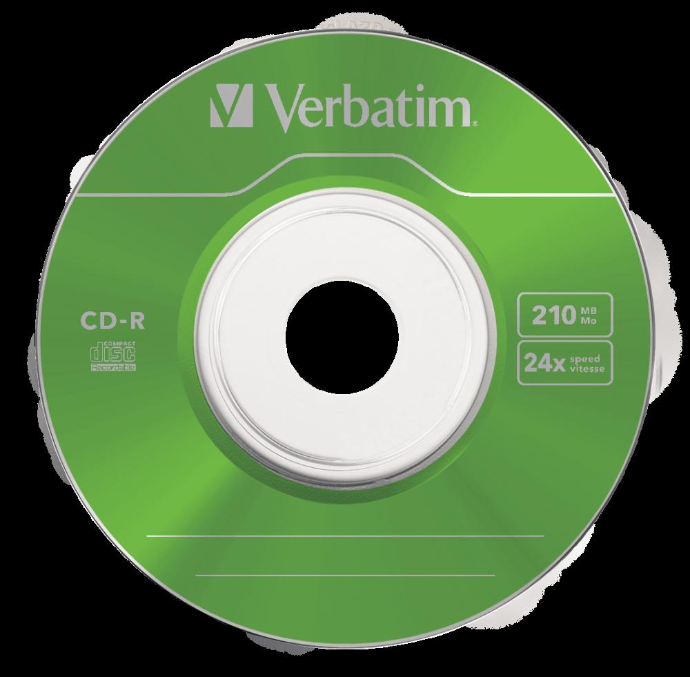 43266 CD-R 8cm Colour Global Disc Surface Green
