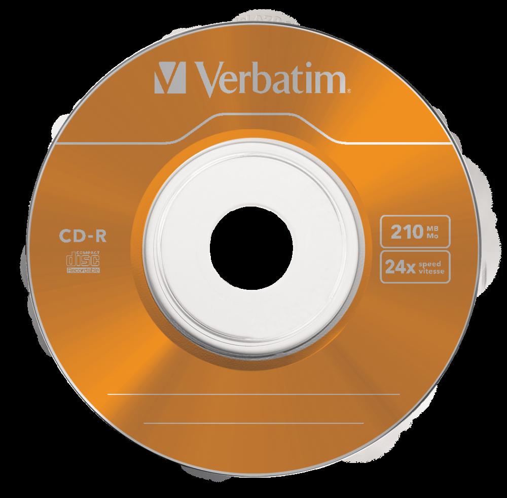43266 CD-R 8cm Colour Global Disc Surface Orange