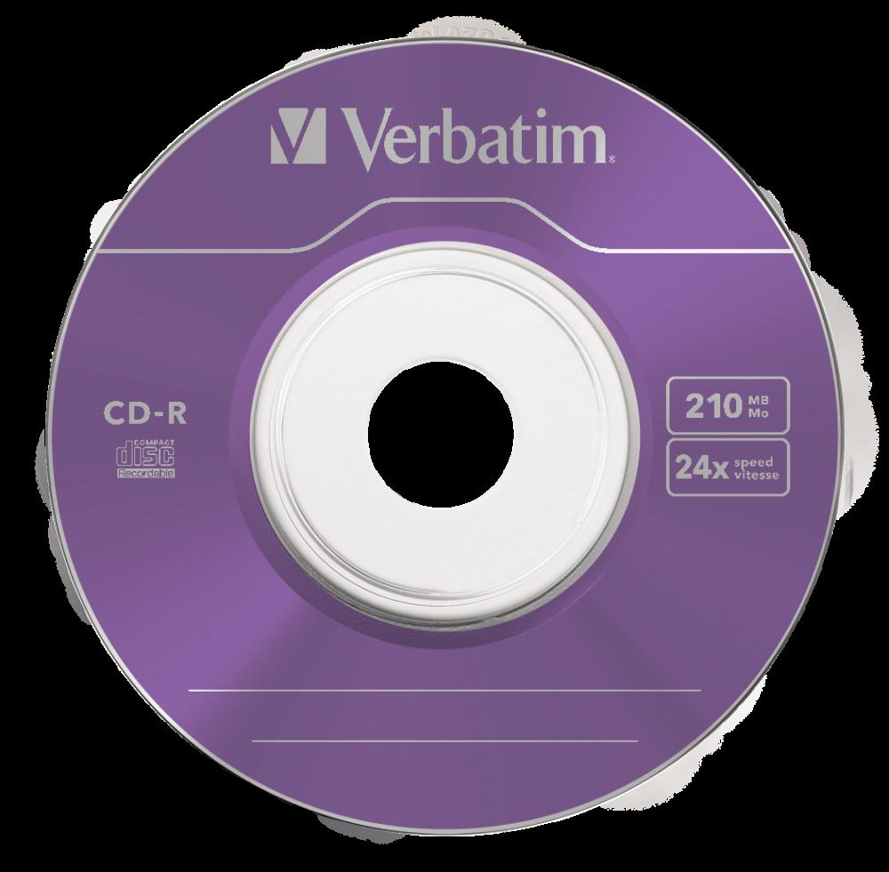 43413 CD-R 8cm Colour Global Disc Surface Purple