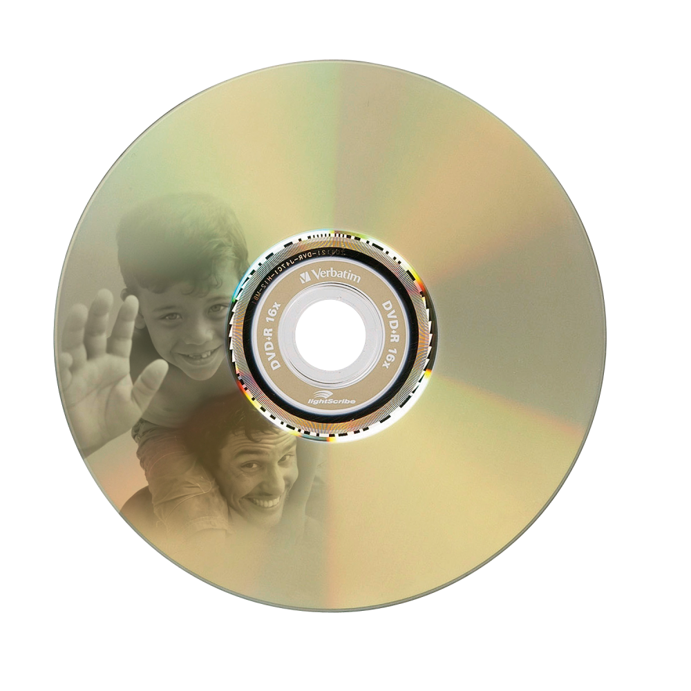 43575 DVD+R LightScribe Global Disc Surface printed