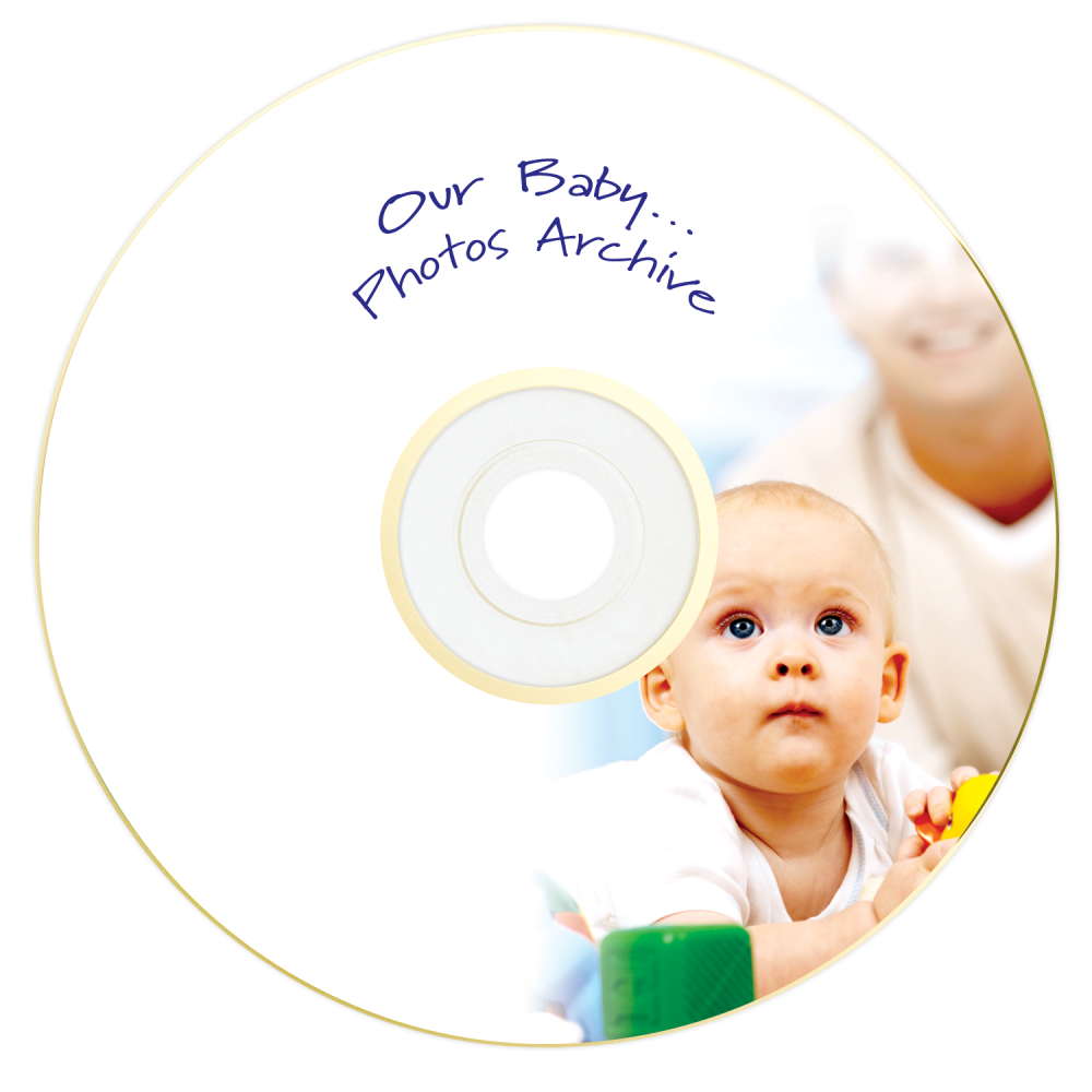 43638 DVD-R Gold Archival Global Disc Surface printed