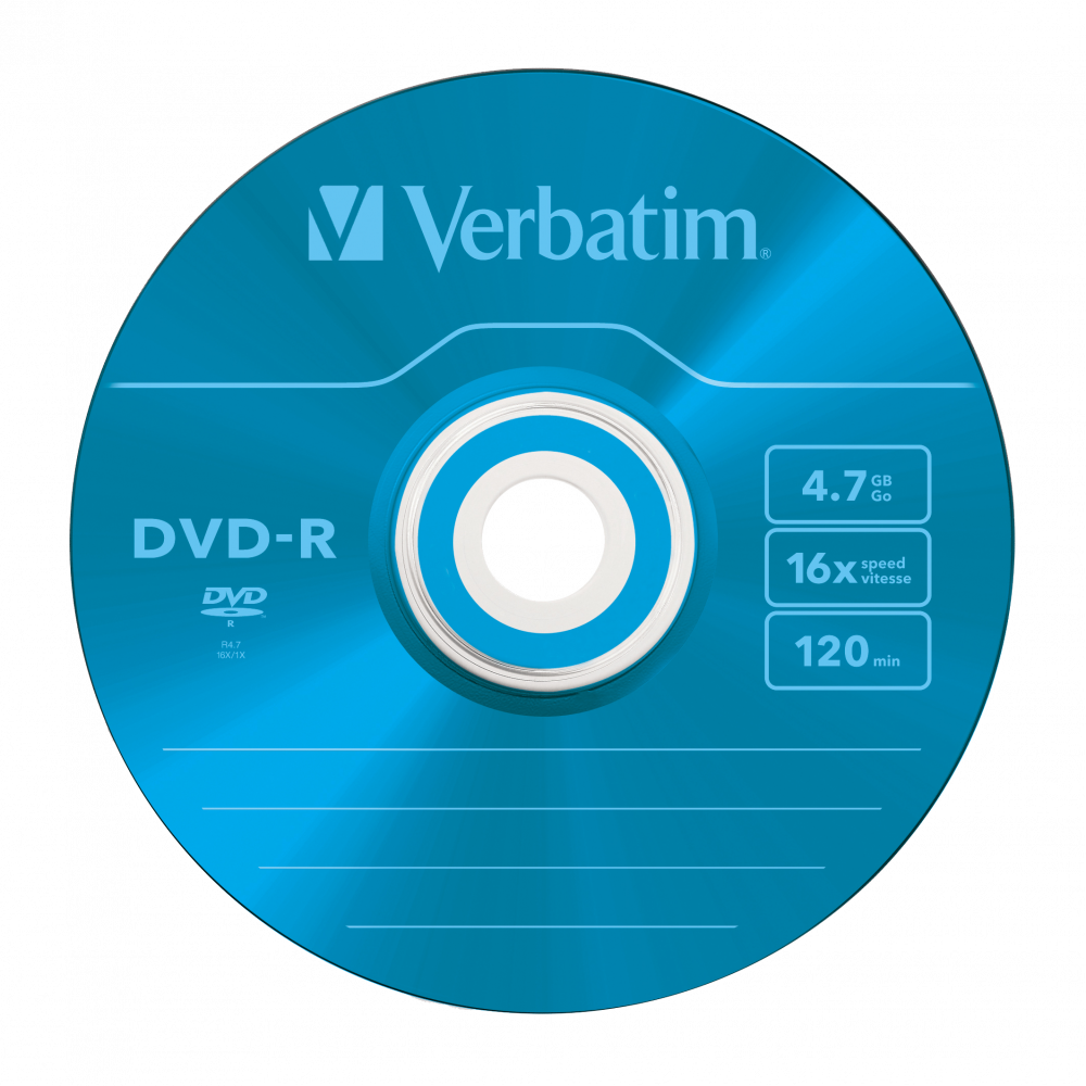 43557 DVD-R Colour Global Disc Surface Blue