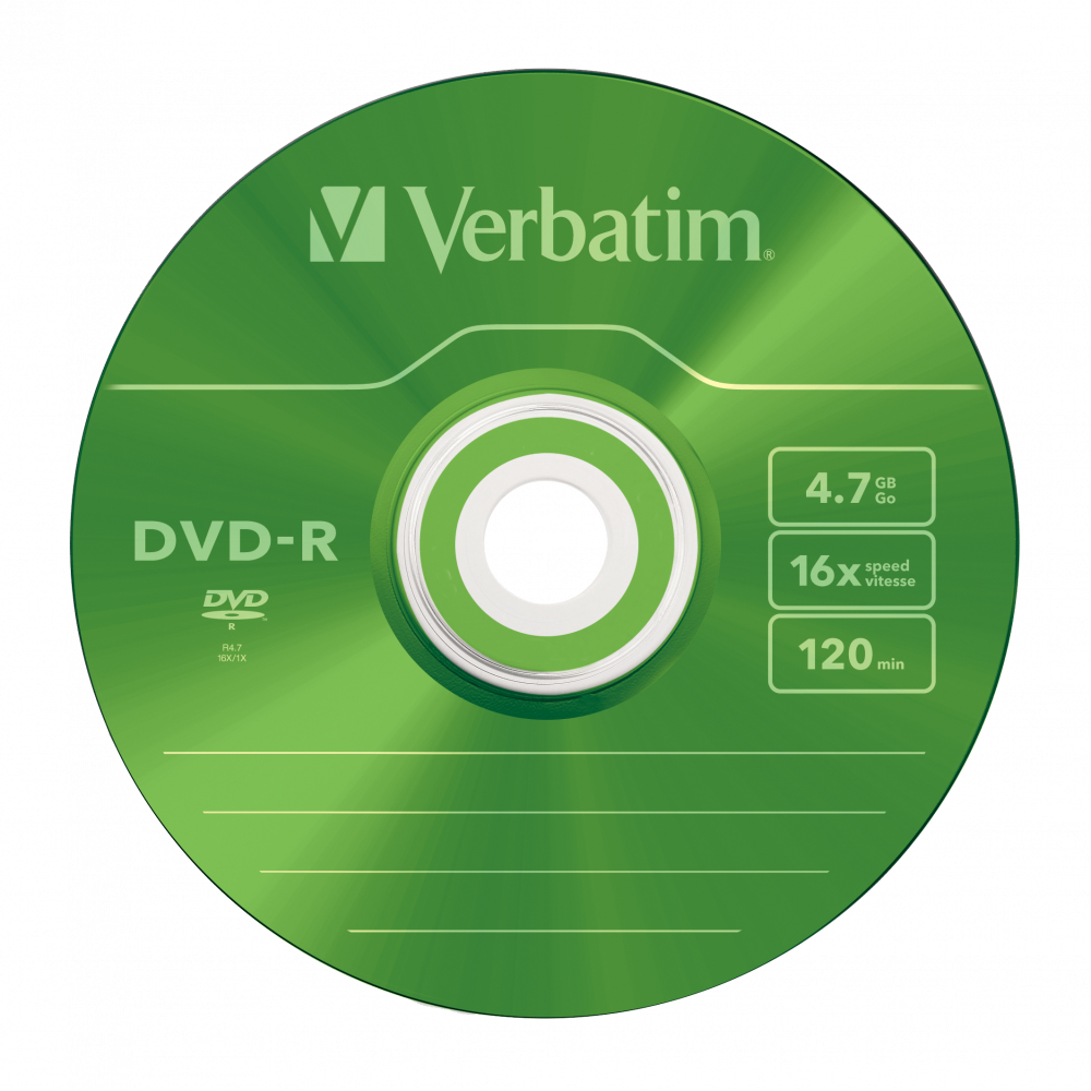 43557 DVD-R Colour Global Disc Surface Green
