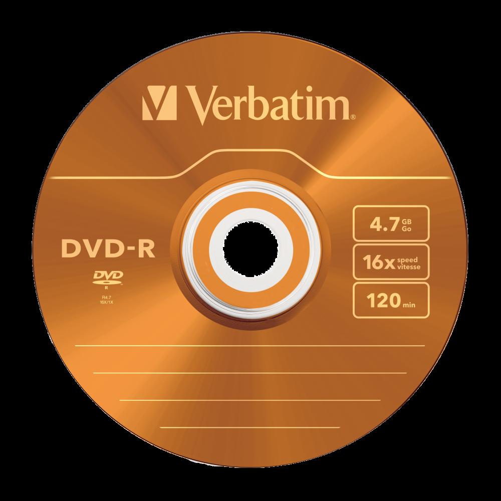 43557 DVD-R Colour Global Disc Surface Orange