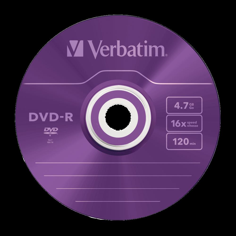43557 DVD-R Colour Global Disc Surface Purple