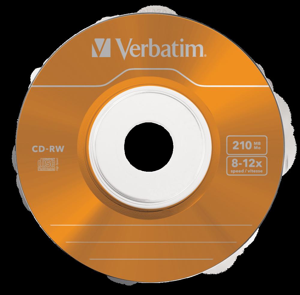 CD-RW 8cm Colour 12x