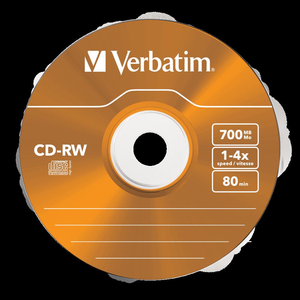 43133 CD-RW Colour Global Disc Surface Orange