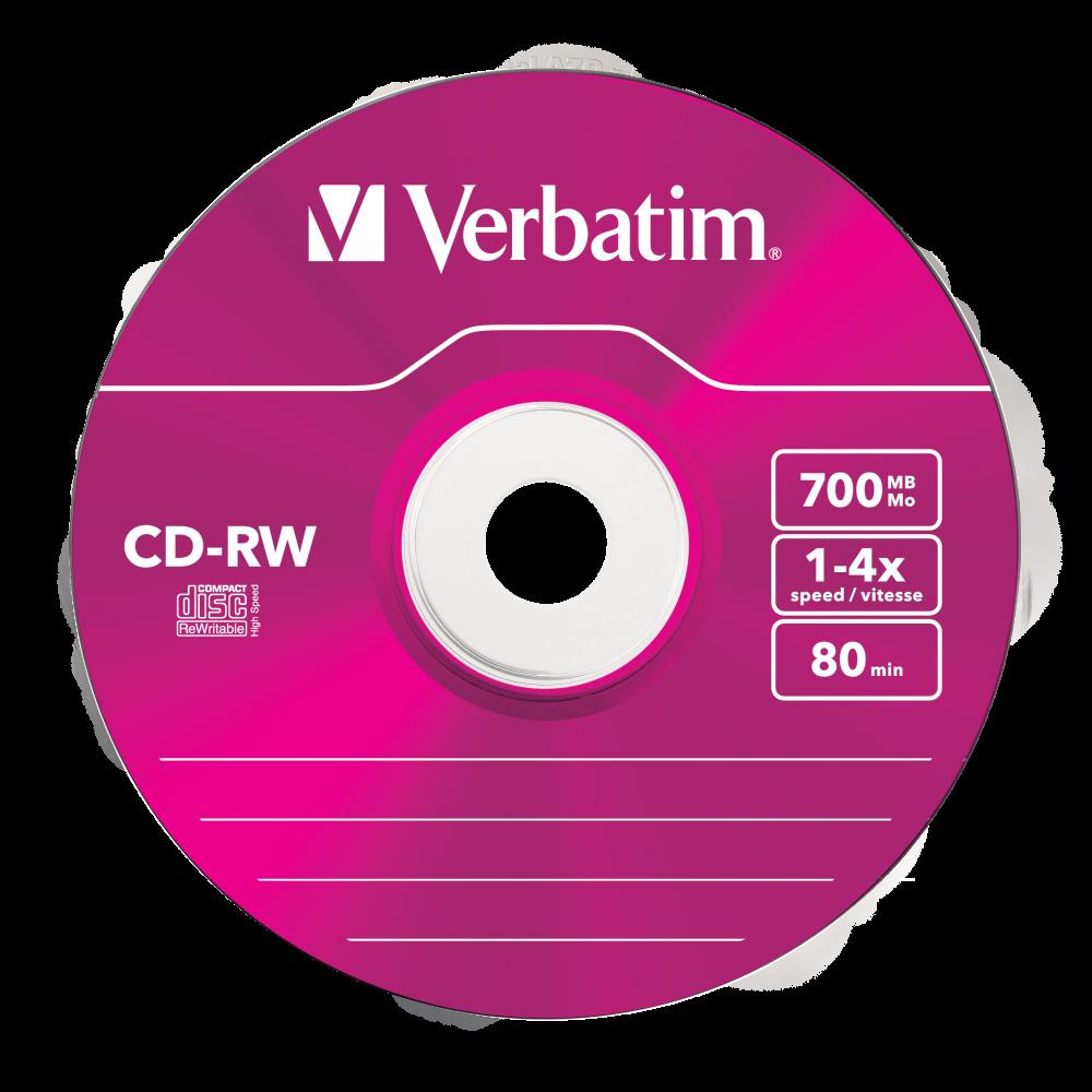 CD-RW Colour 4x