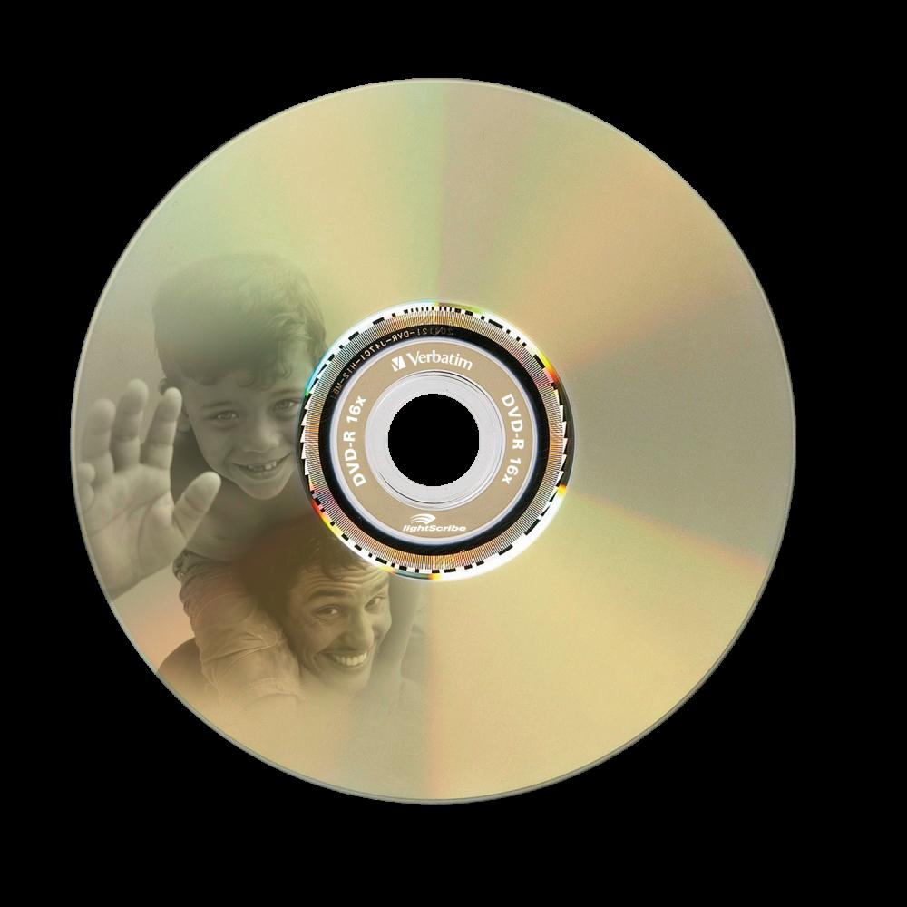 43643 DVD-R LightScribe Global Disc Surface Printed