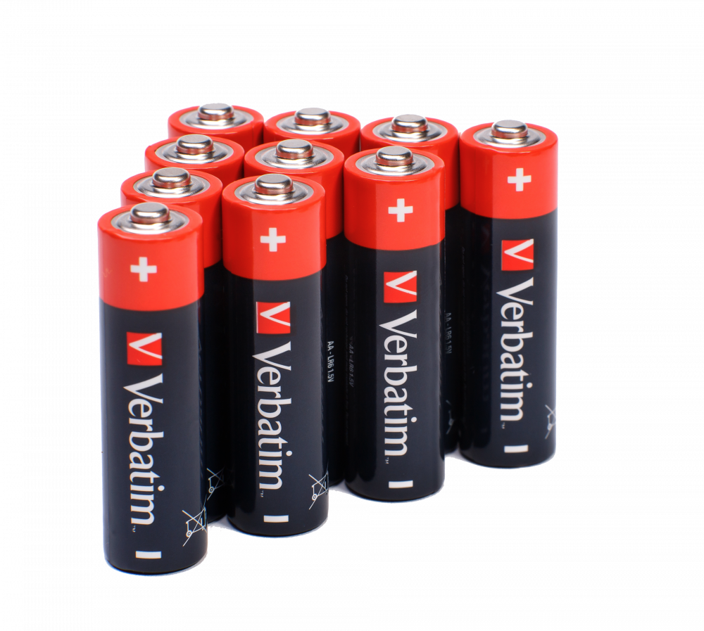 Verbatim Batteries Lifestyle 49921 49501 49503 49875 49877 49505 4