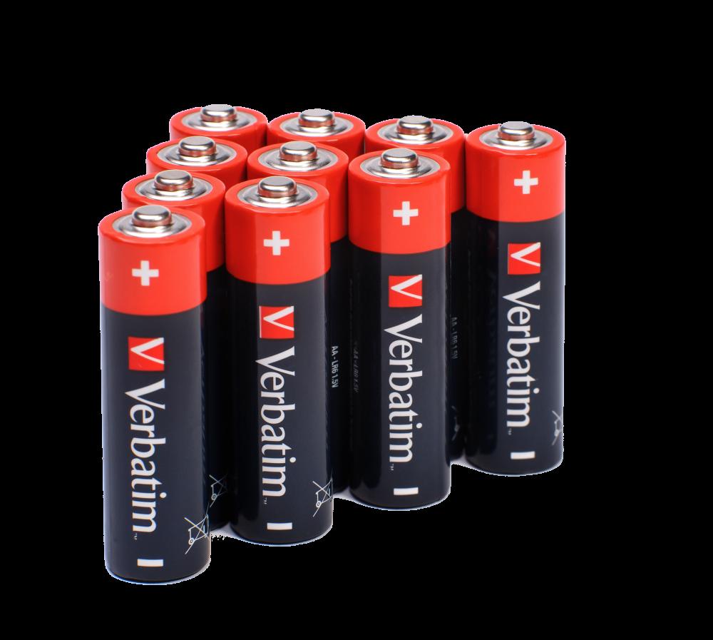 Verbatim Batteries Lifestyle 49921 49501 49503 49875 49877 49505 4