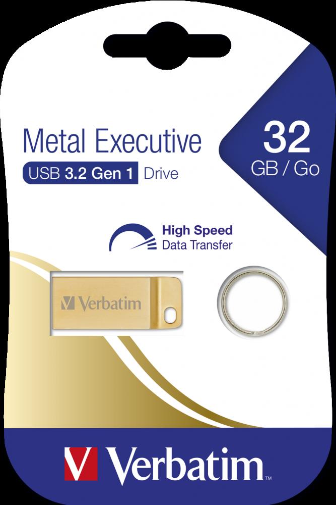 Executive USB 3.2 Gen 1-Laufwerk aus Metall 32GB