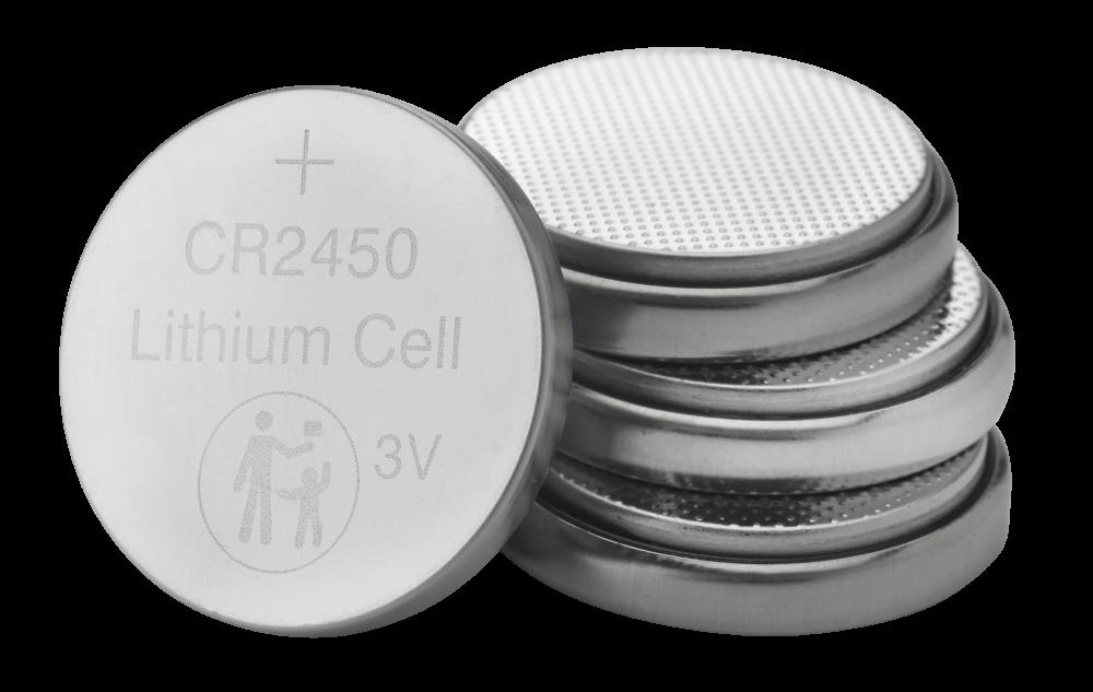 Литиевые батареи CR2450, 3�В (4�шт. в упаковке)