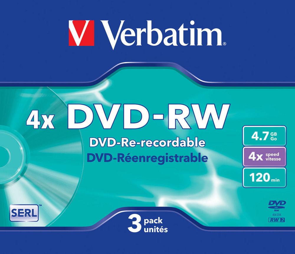 DVD-RW Matt Silver