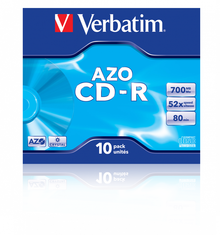 CD-R AZO Crystal