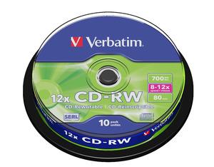 CD‑RW 12x