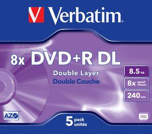 DVD+R DL 8x Matt Silver